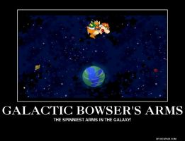 Galactic Bowser's arms by BluShroom20