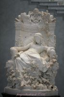 Lady in Chair of Roses by FairyAndTurtleStock