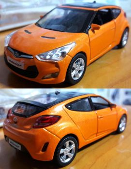 Veloster Diecast by toyonda