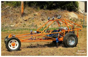 A Cool Orange Rail Buggy by TheMan268
