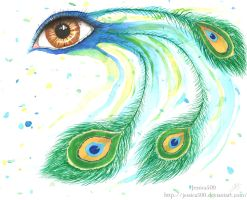 Peacock Eye by Jessica500