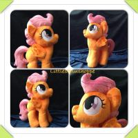 Scootaloo plush for sale by Littlestplushoppe