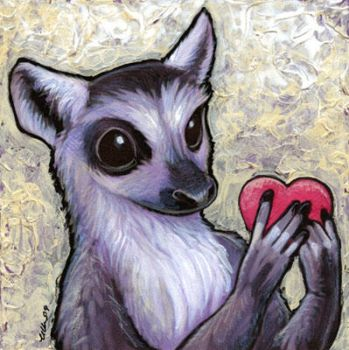 Ringtail Heart by ursulav