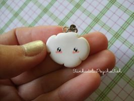 Cloud Charm 3 - White by FunkadelicPsychoFish