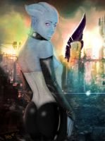 Asari Woman - Thessia by Bohy