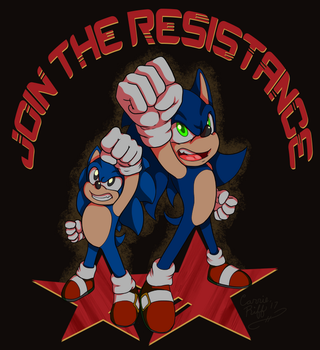 .: JOIN THE RESISTANCE :. by carriepika