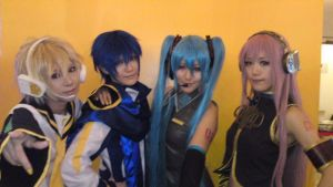 Vocaloid! by touyahibiki