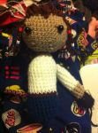 Connor Kenway amigurumi doll WIP by D-Chan416