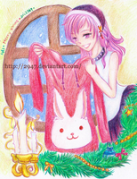 CLAC GIFT: Siannie - The Red Rabbit Lover Hoodie by 2947