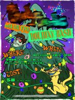 Holiday Bash Poster by dodgyrommer