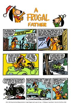 Augie Doggie - A Frugal Father page one of two by PerilPress