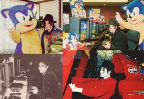 Michael Jackson Goes SEGA by Mawinthehedge