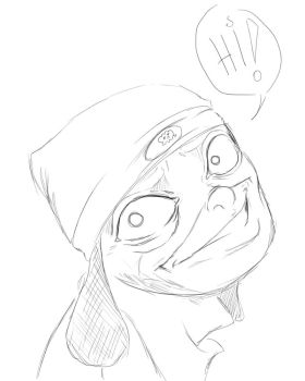 Handsome Parappa... :D by Shynox