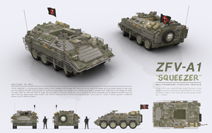 ZFV-A1 SQUEEZER - Multi-purpose Fighting Vehicle by cr8g