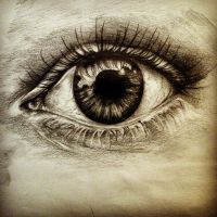 an eye capturing the moment by valine07
