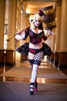 Victorian Harley Quinn en pointe 2 by Lisa-Lou-Who