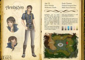 Characters of Euthia : Arnbjorn by Adlez-Axel