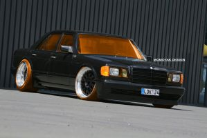 1983 Mercedes Benz S-Class W126 by MOMOYAK by MOMOYAK