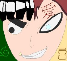 Rock Gaara by BlackLegSarah