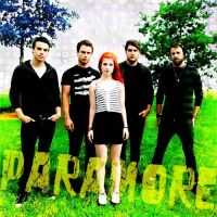 Paramore Album Cover 2 by taxicabofdoom