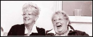 Laughing Sisters by ajuk
