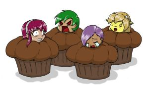 Muffins by canime