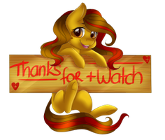 Thanks watch by Pillonchou