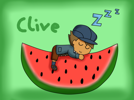 PL fruit chibi - Clive by kenabe