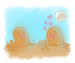 Diglett wants to evolve by theNy