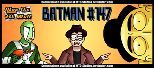 AT4W Classicard: Batman no.147 by MTC-Studios