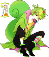 Nutty Happy Tree Friends Render by debbiichan