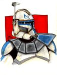 Captain Rex Phase II by ragelion