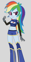 Strikers Charged Rainbow Dash by Death-Driver-5000