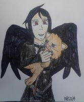 The Demon Angel And His Kitten by HinataFox790