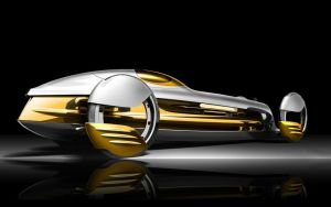 132402 Mercedes-benz Silverflow 1920 by bleumart