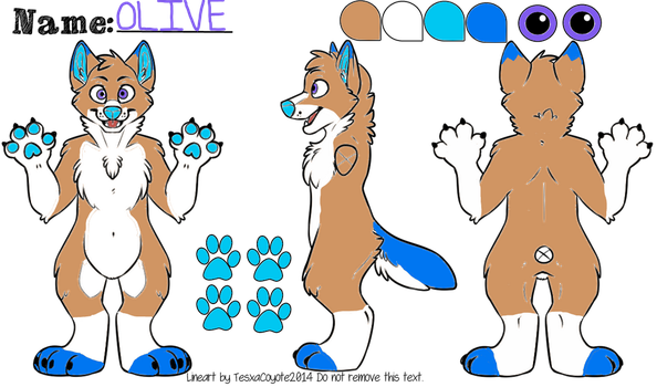 Olive the Dingo by Russet-Fang