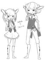 Delilah and Derrin - TS by Ashurst