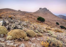 Hills on Imbros by Pipera
