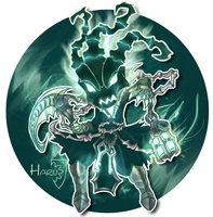 League of Legends Thresh classic skin by HarukArt