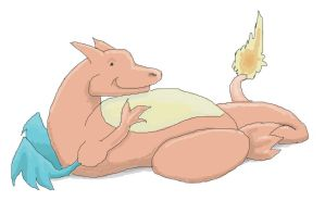 Fat Charizard by WendysKaleidoscope