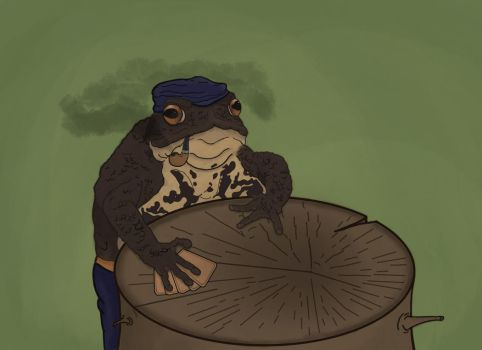 The Gambling Toad by TheHerdman
