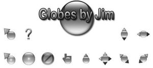Globes by Jim - Gray by jamest