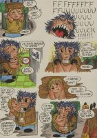 Wolverine Go to Japan page 2 by LievVictorovitch
