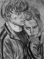 Ron and Hermione Hug DH part 1 by dasimartinez