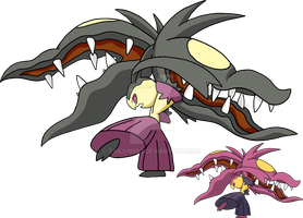 303 - Mega Mawile by Tails19950