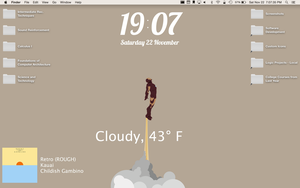 OS X Yosemite Desktop (November 2014) by djtech42