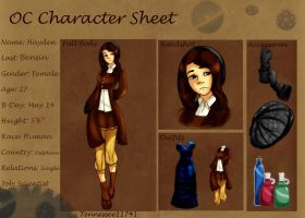 Hayden B .:Character Sheet:. by Tennessee11741