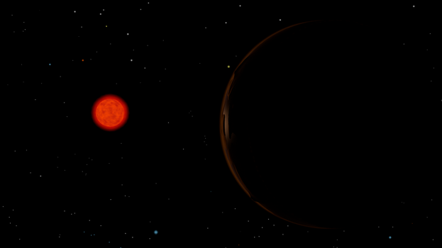 Proxima Cenaturi and the exoplanet by ZourDementor