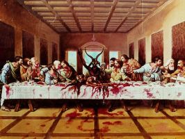 the REAL last supper by Xtreme-Jesus