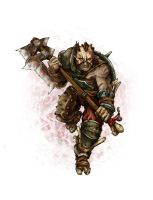 Cannibal Barbarian by butterfrog